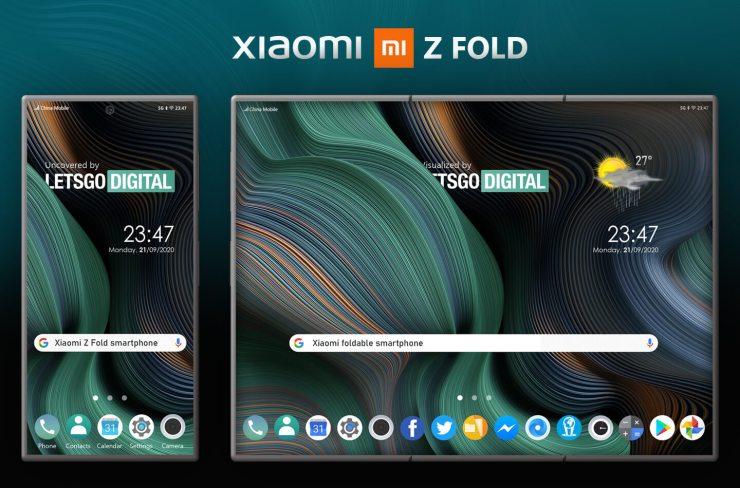 Teléfono inteligente Xiaomi Z Fold