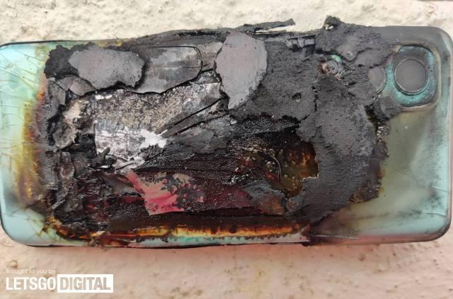 一加智能手機電池爆炸