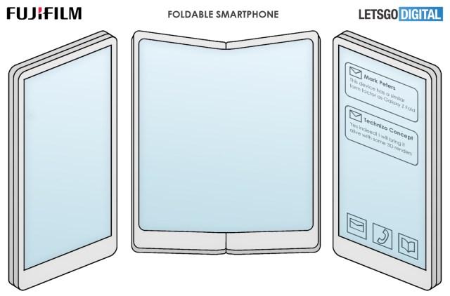 富士可折疊手機