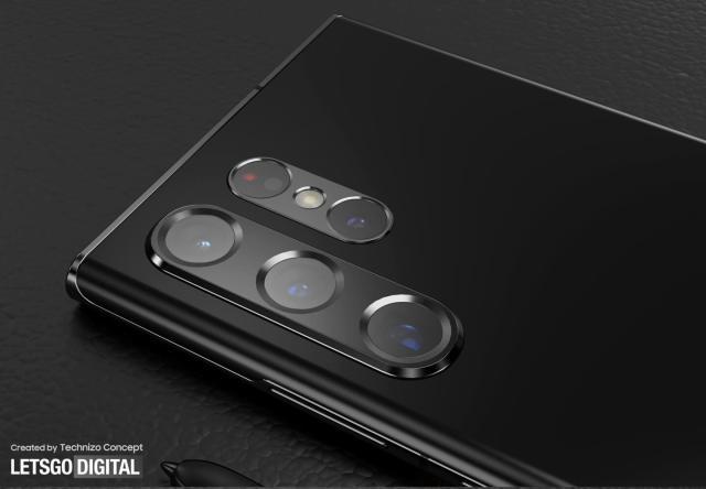 三星 Galaxy S22 Ultra 相機設計