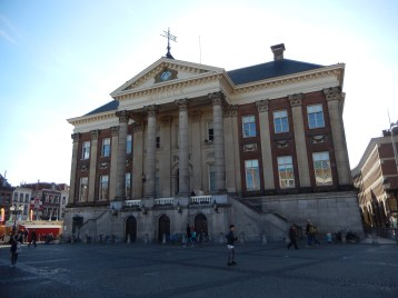 The Groningen City Hall (1775-1810), a classicist building designed by Jacob Otten Husly