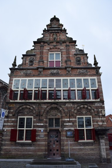 The Woerden town hall, a Renaissance monument from 1501-1538. It functions nowadays as a city museum.