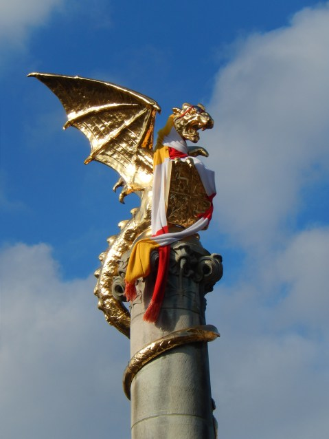 The Golden Dragon, symbol of 's-Hertogenbosch
