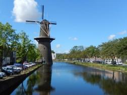 The tallest traditional Dutch windmills (Schiedam)