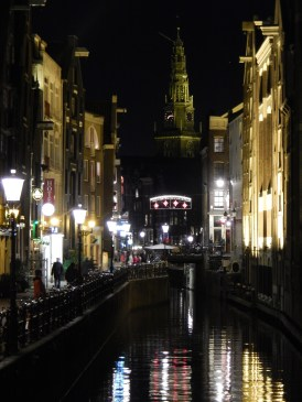 Amsterdam by night