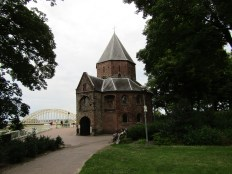 The Saint Nicholas Chapel on the Valkhof hill, the only intact building from the former imperial palace (ca. 1030)