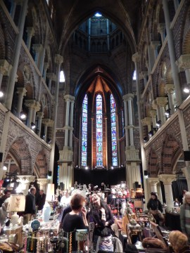 The Posthoornkerk in Amsterdam is currently used as a venue for markets, exhibitions and concerts.