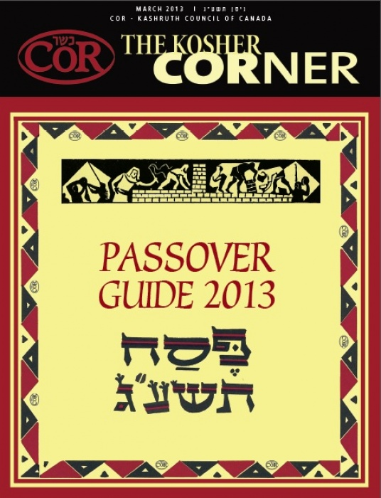 COR Passover Guide