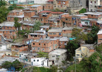 "The quality of life has greatly improved in the barrios or ""ranchos"" in Caracas, where most citizens live"