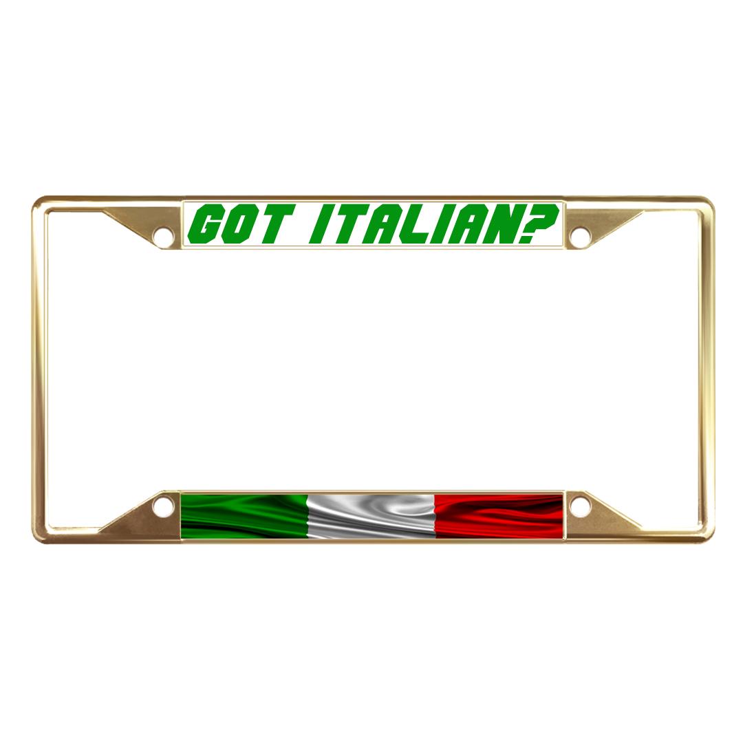 Italian License Plate Frames Amazon