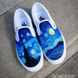 """Starry Night"" Vans"