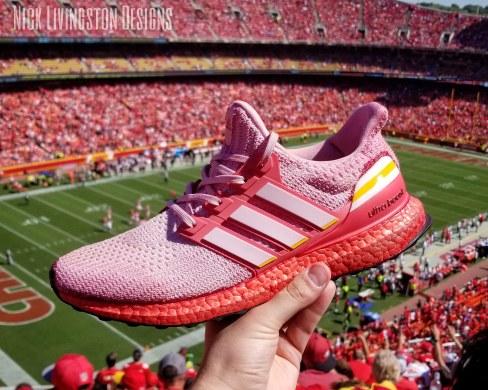 """Chiefs"" Adidas Ultraboost"