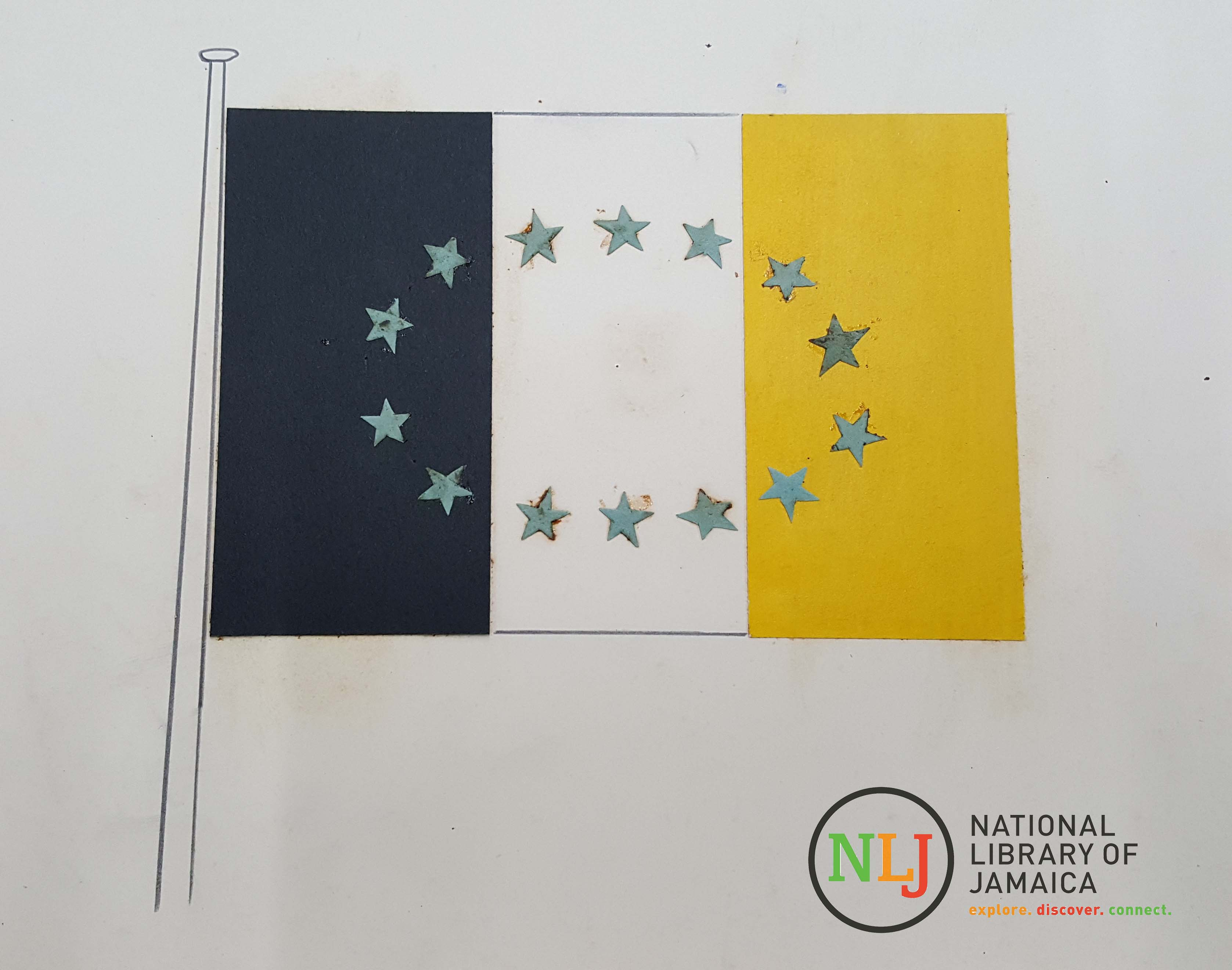 the story of the jamaican national flag the national library of