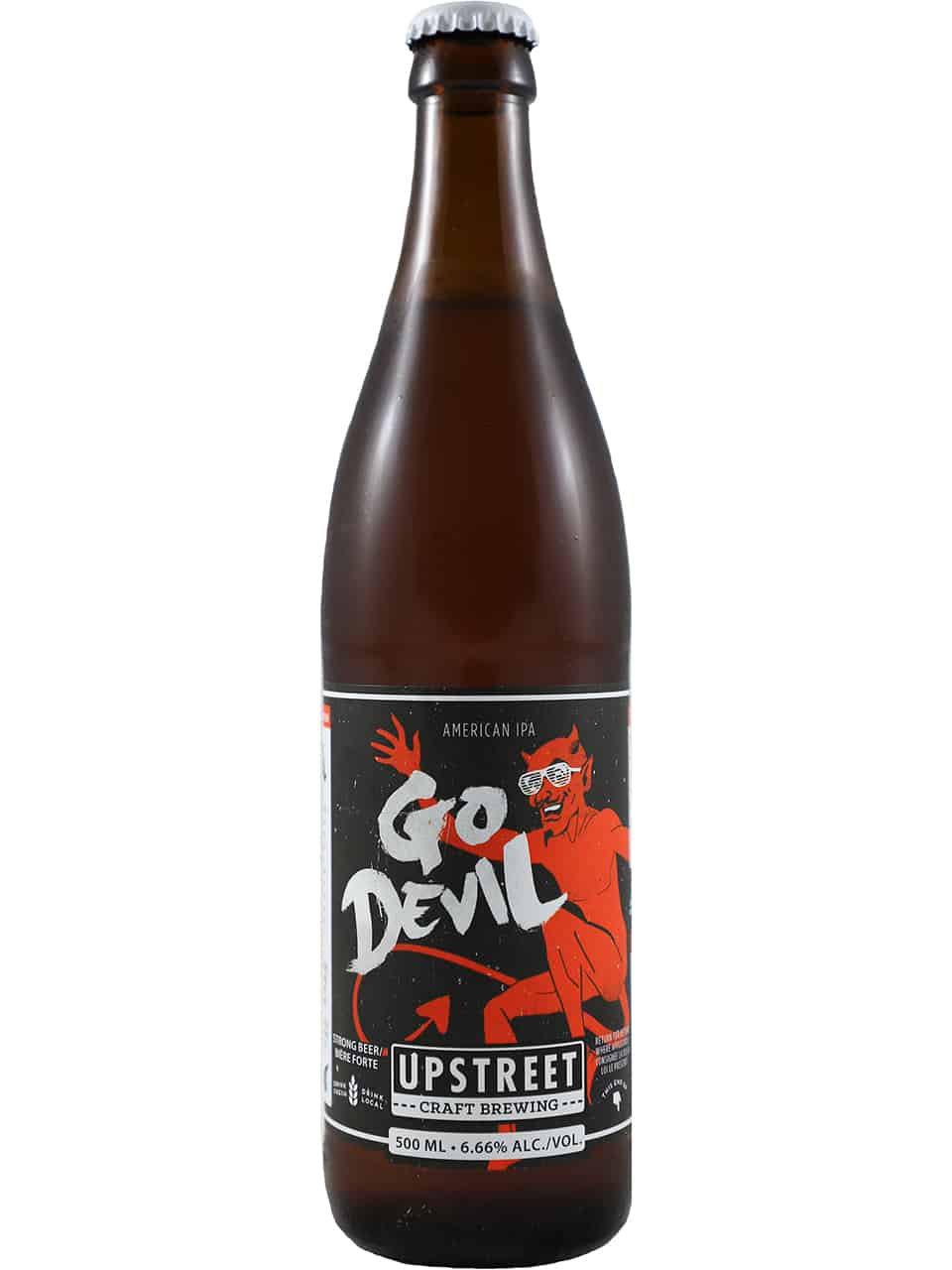 Upstreet Go Devil IPA 500ml Bottle