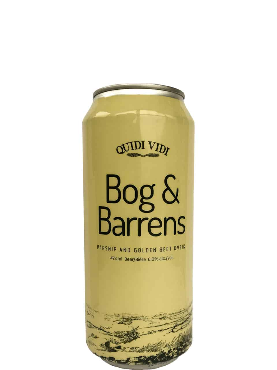 Quidi Vidi Bog & Barrens Parsnip&Golden Beer Kveik