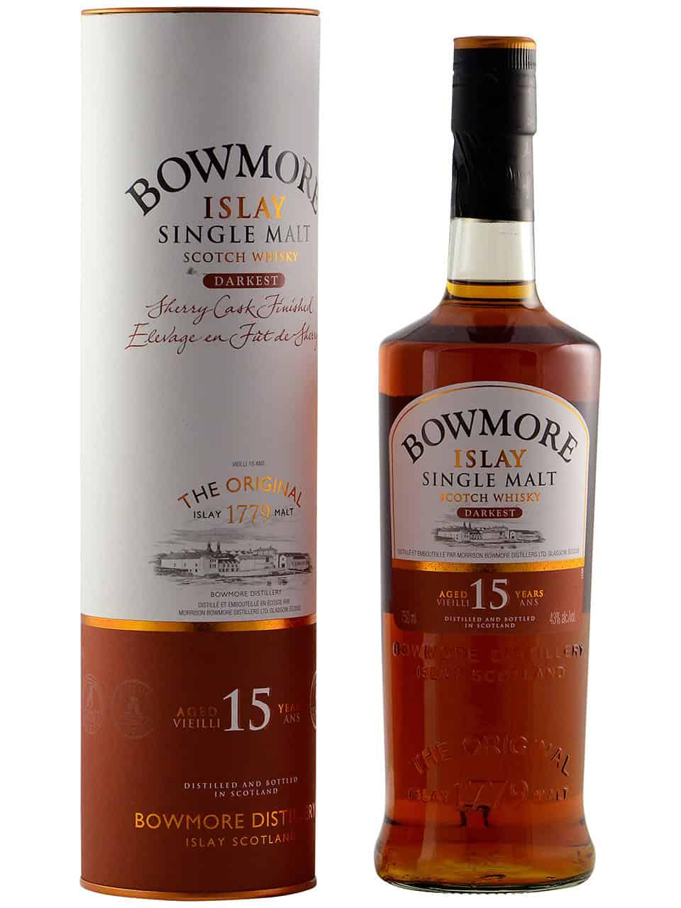 Bowmore Darkest Whisky