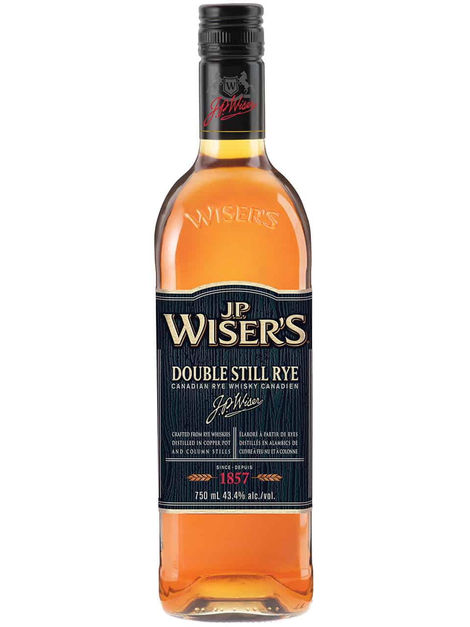 Wiser's Double Still Rye Canadian Whisky
