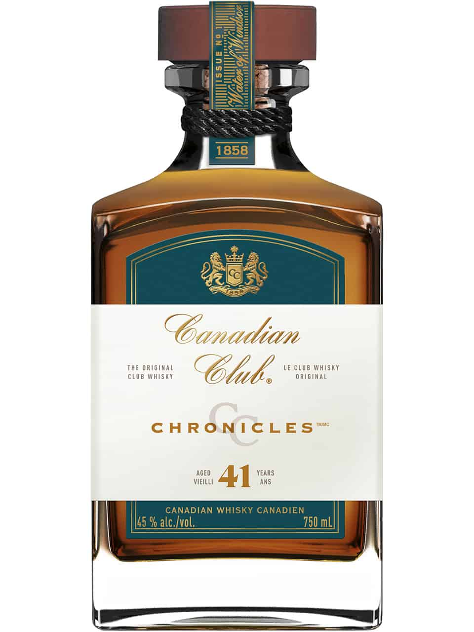 Canadian Club 41YO Chronicles No1 Water of Windsor