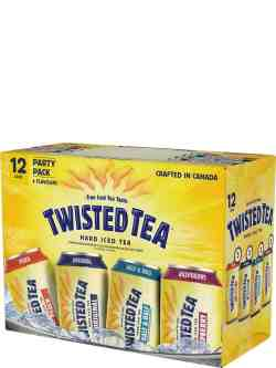 Twisted Tea Hard Iced Tea Party Pack 12 Pack Cans