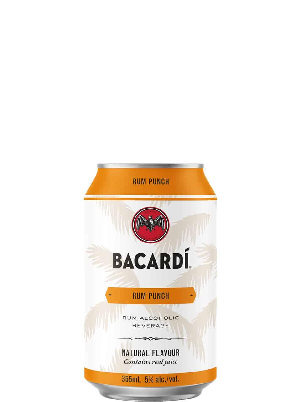 Bacardi Rum Punch 6 Pack