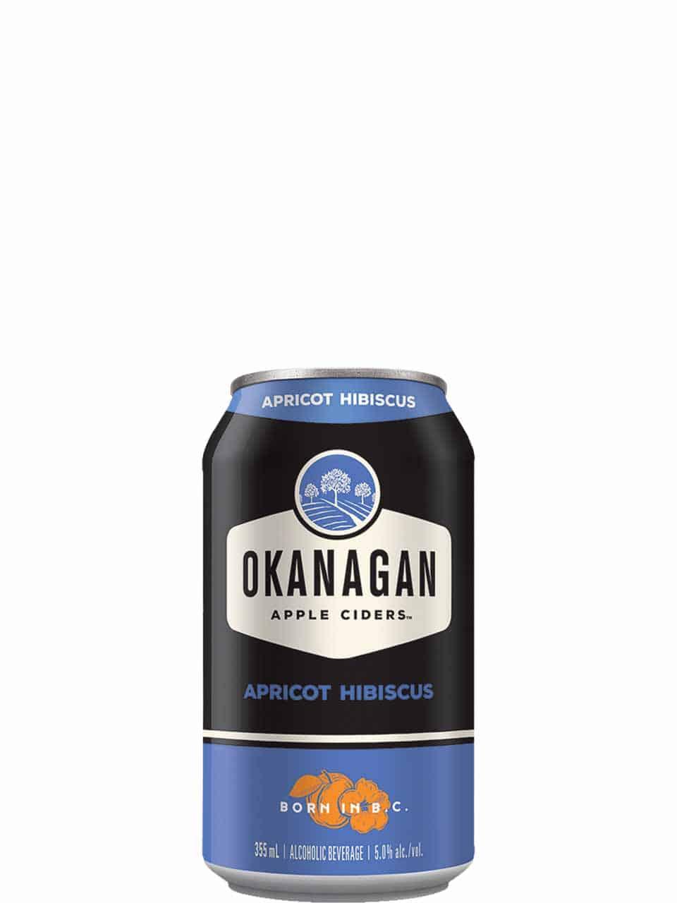 Okanagan Apricot Hibiscus Cider 6 Pack