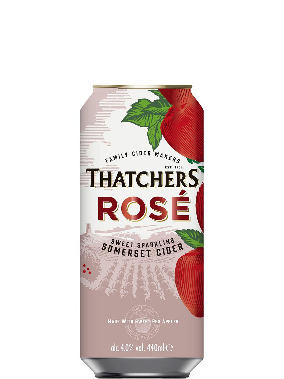 Thatchers Rose Cider 4 Pack