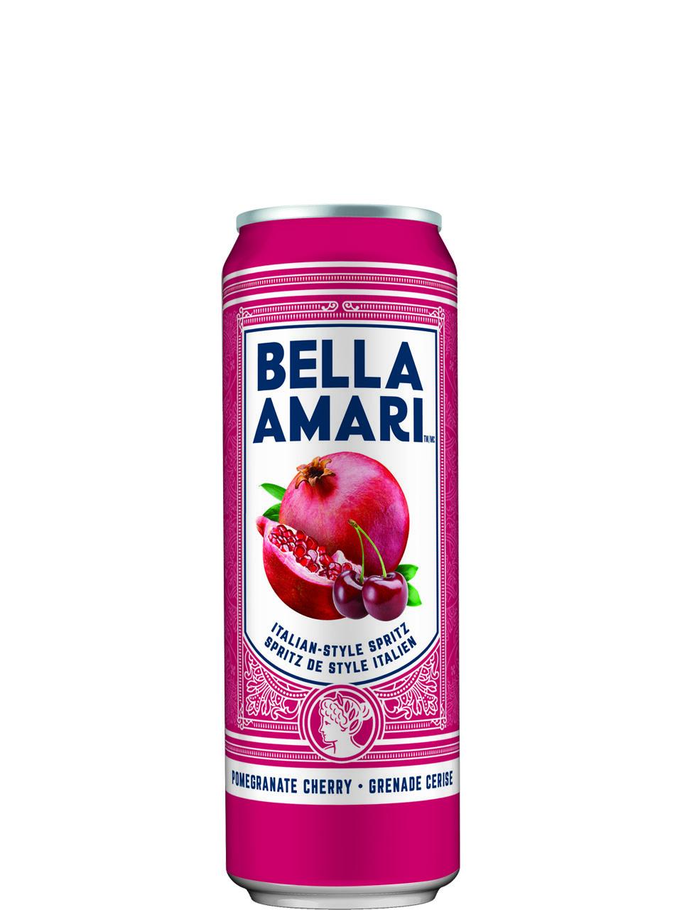 Bella Amari Pomegranate Cherry 4pk Cans