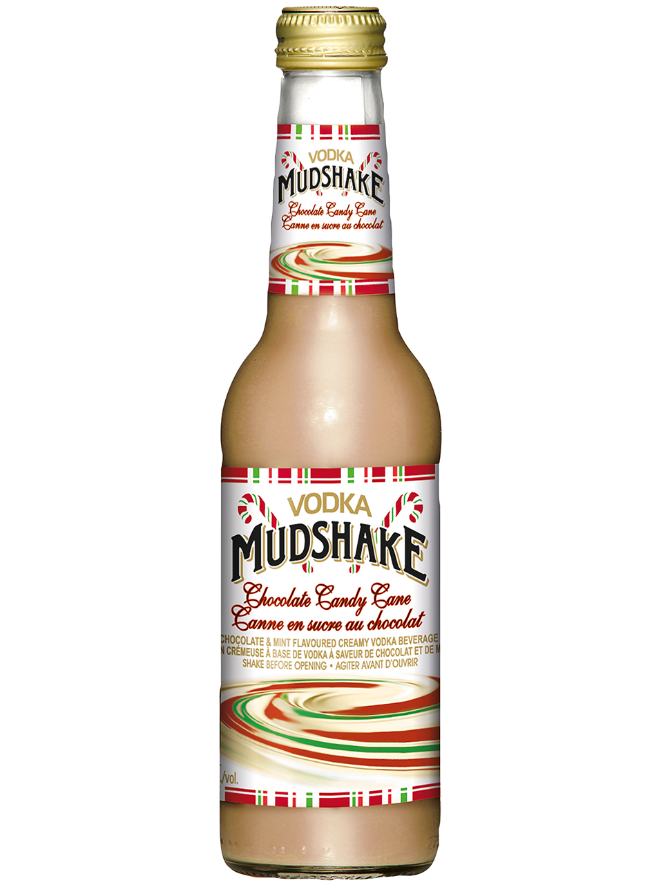 Vodka Mudshake Chocolate Candy Cane