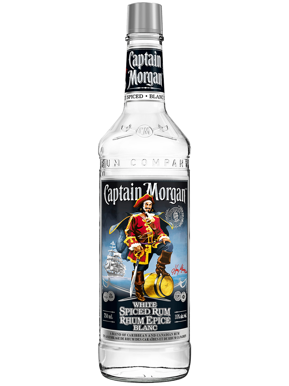 Captain Morgan White Spiced Rum