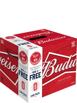 Budweiser Bottles 12pk