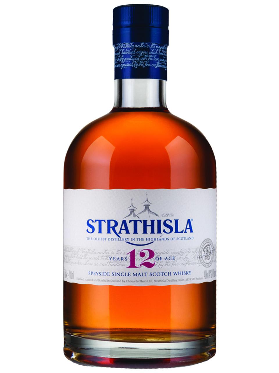 Strathisla 12 YO Single Malt Scotch Whisky