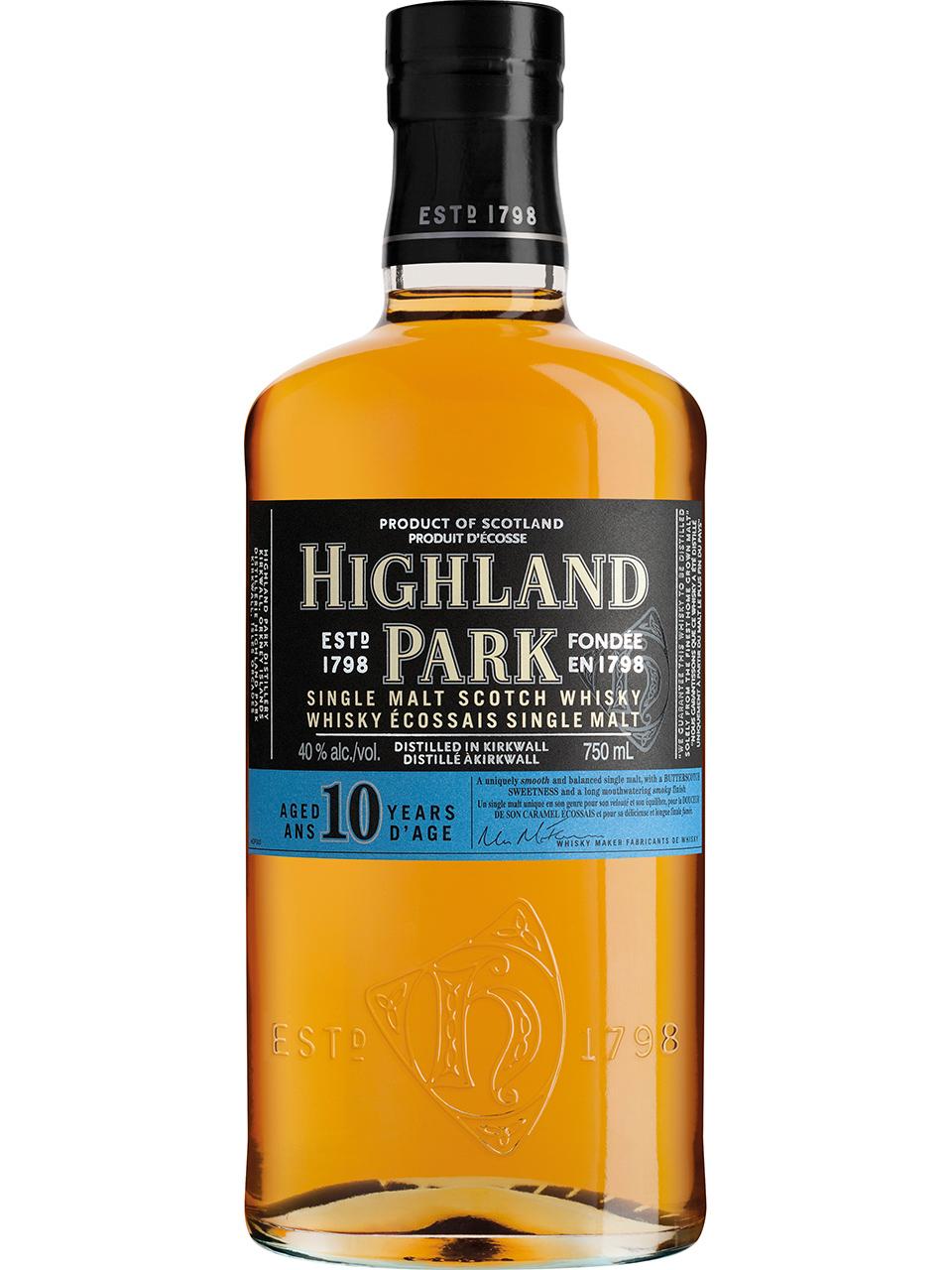 Highland Park 10 YO Single Malt Scotch Whisky