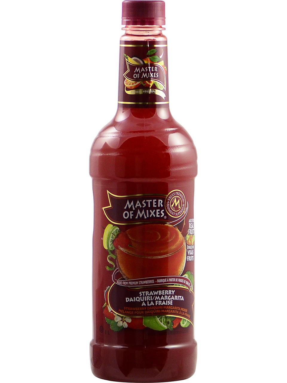 Master of Mixes Strawberry Daiquiri/Margarita Mix