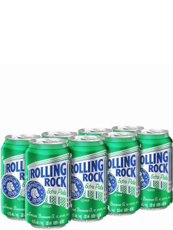 Rolling Rock 8 Pack Cans
