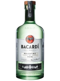 Bacardi Gran Reserva Maestro de Ron White Rum