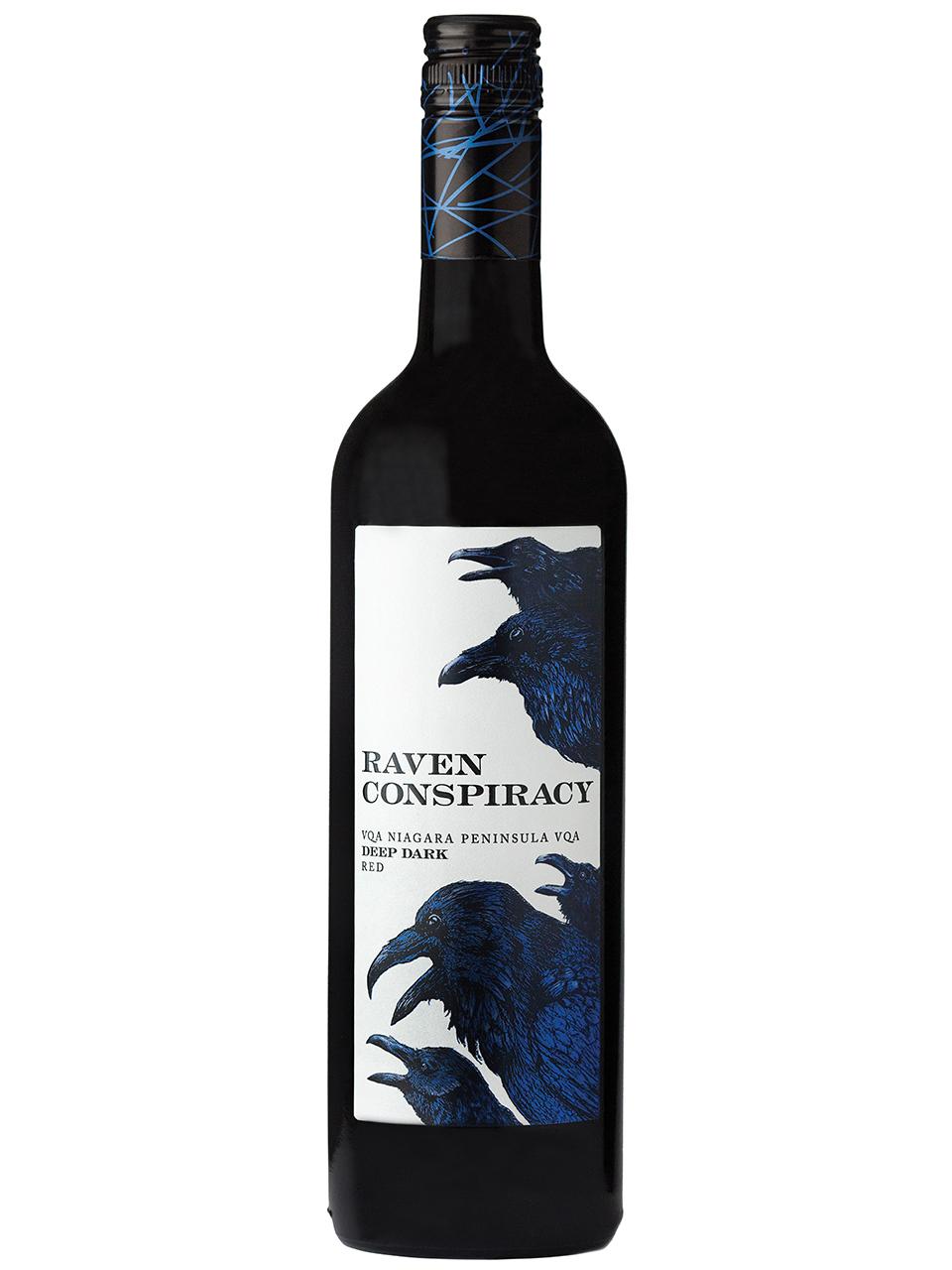 Raven Deep Dark Red