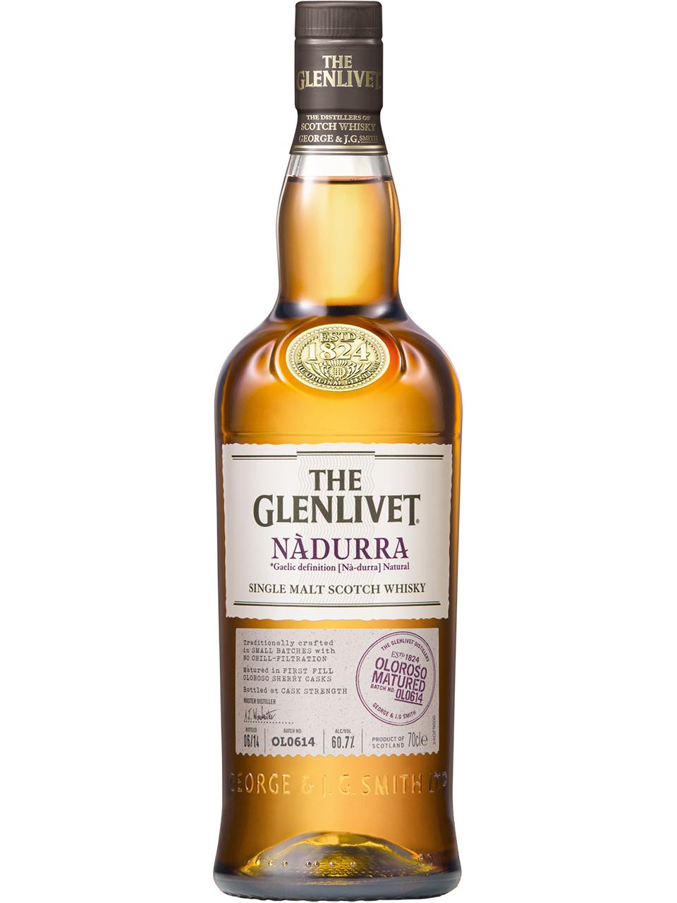 The Glenlivet Nadurra Oloroso Single Malt Scotch