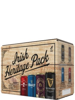 Irish Heritage Pack 8pk Cans