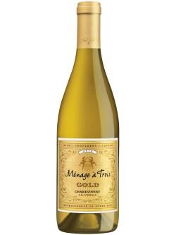 Menage a Trois Gold Chardonnay