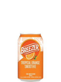 Breezer Tropical Orange Smoothie 6pk Cans