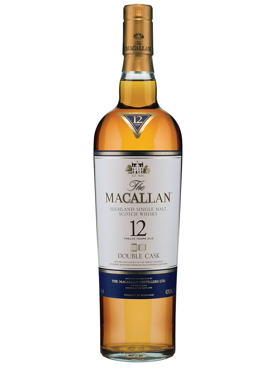 The Macallan Double Cask 12YO Scotch Whisky