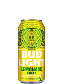Bud Light Lemonade Radler 473ml Can