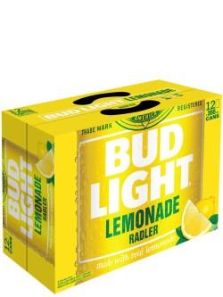 Bud Light Lemonade Radler 12 Pack Cans