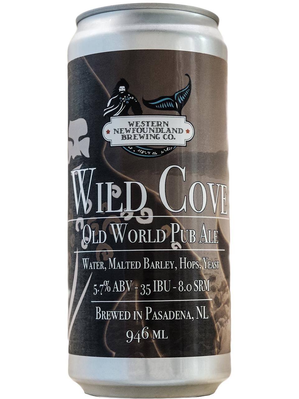 Western NL Brewing Wild Cove Pub Ale