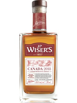 J.P. Wiser's Commemorative Series Canada 2018