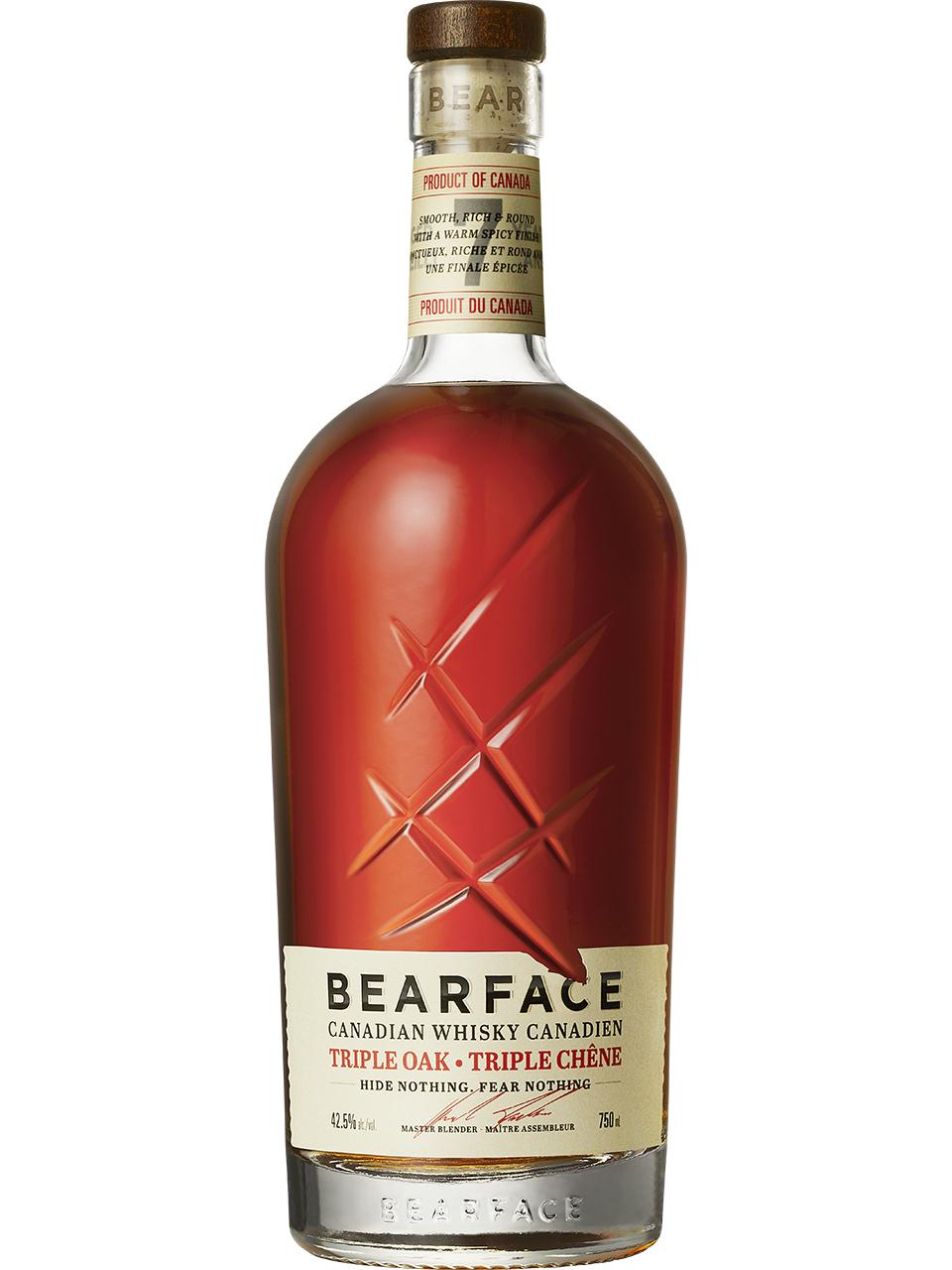 Bearface 7 YO Triple Oak Canadian Whisky