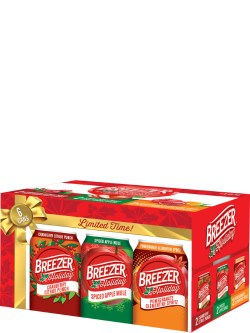 Breezer Holiday Pack 6 Pack Cans