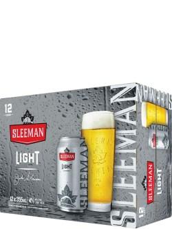 Sleeman Light 12 Pack Cans