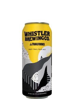 Whistler Brewing Hazy Trail Pale Ale 473ml Can