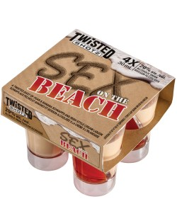 Twisted Shotz Sex on the Beach 4 Pack